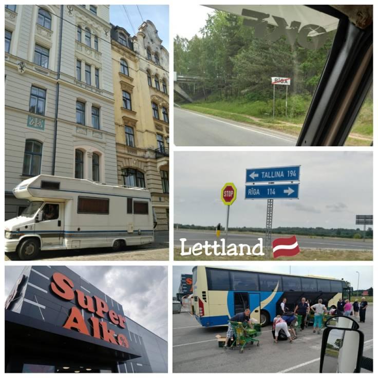 Collage Lettland