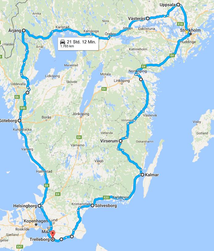 Schweden 2016